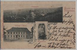 Gruss Aus Hügelheim - Totalansicht, Gasthaus Z. Blume, Markgrälerin - Muellheim