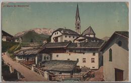 Sta Maria Im Münstertal - Dorfpartie - GR Grisons