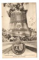 55 - DOUAUMONT CLOCHE LOUISE ANNE CHARLOTTE BOURDON DE LA VICTOIRE - ÉDITIONS VERDUN - TYPES BLANC + SEMEUSE - Douaumont