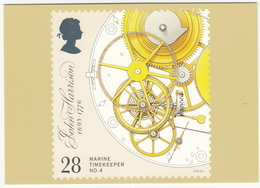 Marine Timekeepers - No.4 : Escapement, Remontoire And Fusee  - (28p Stamp)  - (U.K.) - Postzegels (afbeeldingen)