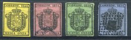 ESPAÑA       Nº  28 / 31   Usado Muy Bonita  -650 - 1850-68 Kingdom: Isabella II