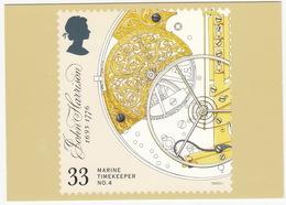Marine Timekeepers - No.4 : Timekeeping Element Icluding Balance And Spring - (33p Stamp)  - (U.K.) - Postzegels (afbeeldingen)