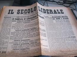 GIORNALE IL SECOLO LIBERALE 25 APRILE 1945 - War 1939-45