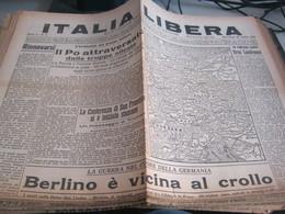 GIORNALE ITALIA LIBERA 25 APRILE 1945 - War 1939-45