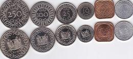 Suriname - 1 5 10 25 100 250 Cent 1979 - 1989 UNC Set 6 Coins Ukr-OP - Surinam 1975 - ...
