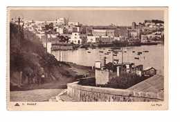 Maroc Rabat Le Port + Timbre Cachet Rabat - Rabat