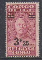 Belgisch Congo 1931 Stanley Ovptd 3.25F Op 3.50F  ** Mnh (38942B) - Belgisch-Kongo