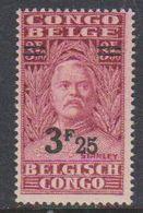 Belgisch Congo 1931 Stanley Ovptd 3.25F Op 3.50F  ** Mnh (38942D) - Belgisch-Kongo