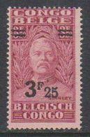 Belgisch Congo 1931 Stanley Ovptd 3.25F Op 3.50F  ** Mnh (38942E) - Belgisch-Kongo