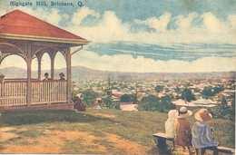 Postcard Australia Highgate Hill Brisbane White's Views Unposted Early 20th Century ? - Brisbane
