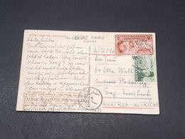EGYPTE - Carte Postale Pour L 'Autriche En 1952 , Affranchissement Plaisant - L 17960 - Covers & Documents