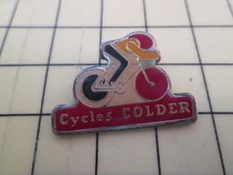 Pin613e Pin's Pins / Beau Et Rare / THEME : SPORTS / CYCLISME VELO ROUES CYCLES COLDER - Cyclisme
