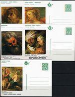 BELG.1977 BK10-14 ** RUBENS - Illustrat. Cards