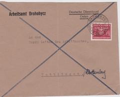 GENERAL GOUVERNEMENT 1943 LETTRE DE DROHOBYCZ - Occupation 1938-45
