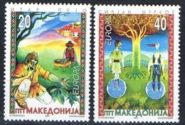 PIA  -  MACEDONIA  -  1997  : Europa - Racconti E Leggende -  (Yv  102-03 ) - Macédoine