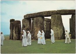 Druids At Stonehenge - (Wiltshire, U.K.) - Stonehenge