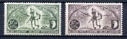 """BE   PA12 - PA13   XX   ---   Série """"Bastogne""""  --  Impeccables - Airmail"""