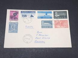 NORVÈGE - Enveloppe De Kirkenes Pour Gossau En 1969 , Affranchissement Varié Et Plaisant - L 17969 - Norway
