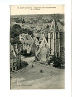 CAEN (14) - Panorama Sur Le Vieux St Gilles Et Le Chateau - Caen