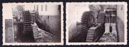 2 X VIEILLE PHOTO ** BRAINE LE CHATEAU - LE VIEUX MOULIN A EAU - MOLEN - Braine-le-Château