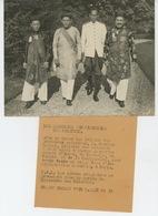 PHOTOS ORIGINALES - ASIE -1938- LES MANDARINS (CAMBODGE TONKIN ANNAM COCHINCHINE) AU MINISTERE DES COLONIES-FRANCE PRESS - Lieux