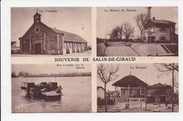 CPA 13 SALIN DE GIRAUD Souvenir Multivues - France