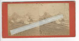 SUISSE SION Circa 1865 1870 PHOTO STEREO /FREE SHIPPING REGISTERED - Photos Stéréoscopiques