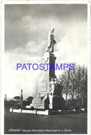 94171 ARGENTINA CORDOBA PARQUE SARMIENTO MONUMENTO A DANTE POSTAL POSTCARD - Argentinien