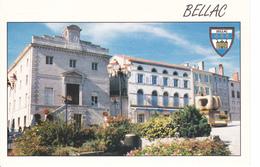 86 BELLAC - VUE UNIQUE / LA PLACE DU PALAIS - Frankreich