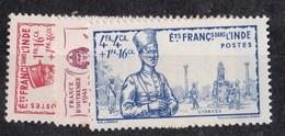 Inde N° 123 à 125** - Inde (1892-1954)