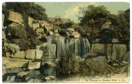 RAMSGATE : THE WATERFALL ON MADEIRA WALK (LL) - Ramsgate
