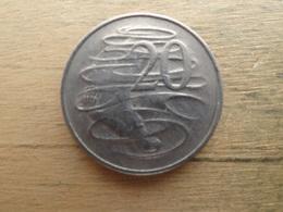 Australie  20  Cents  1966  Km 66 - Monnaie Décimale (1966-...)