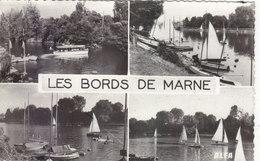 BORDS DE MARNE: CPSM P.F.DE 1962.MULTI-VUES MARNE ET VOILIERS.B.ETAT.PETIT PRIX COMPAREZ!!! - France