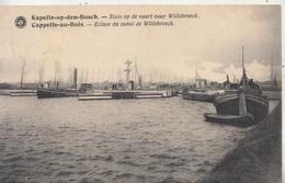 Kapelle-op-den-Bosch - Sluis Op De Vaart Naar Willebroeck - 1923 - Uitg. G. Hermans, Antwerpen - Kapelle-op-den-Bos