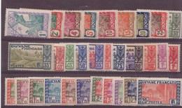 Guyane N°109 à 132** Neuf Sans Charniere - Wallis Und Futuna