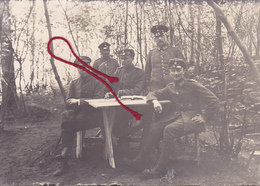 Courtrizy Im Waldlager 1917  Photo Allemande - Francia