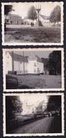 3 X VIEILLE PHOTO ** BRAINE LE CHATEAU ** - Vieille Ferme - Chateau - Place - Braine-le-Château