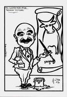 CPSM SAVIGNAC Affichiste Non Circulé Caricature JIHEL Tirage Limité Signé - Savignac