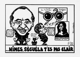 CPSM SAVIGNAC Affichiste Non Circulé Caricature JIHEL Tirage Limité Signé Billet De Banque - Savignac