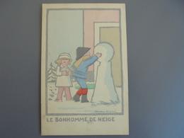 André Hellé Enfants Bonhomme De Neige - Illustrateurs & Photographes