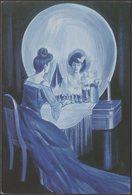 Illusions - All Is Vanity, 1990 - Brinbo Books Postcard - Humour