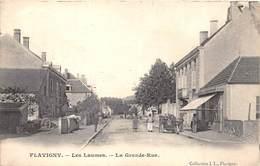 21-FLAVIGNY- LES LAUMES, LA GRANDE RUE - France