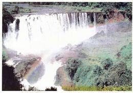 1 AK Äthiopien * Die Tisissat-Wasserfälle Des Blauen Nil (auch Tissisat-Fälle) - Die Zweitgrößten Wasserfälle Afrikas * - Etiopía