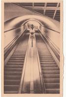 Belgique Belgium Anvers Antwerpen - Tunnel Pour Piétons Sous L'Escaut - Escalier Roulant - Unused - 2 Scans - Antwerpen