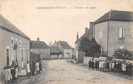 21-LAROCHE-EN-BRENIL- L'ENTREE DU PAYS - France