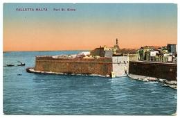 MALTA : VALLETTA - FORT ST. ELMO - Malta