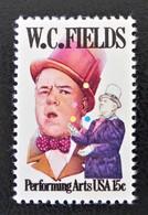 W.C FIELDS ACTEUR 1980 - NEUF ** - YT 1267 - MI 1410 - Estados Unidos