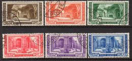 Vatican City 1938 Archaeological Conference Set Of 6, Used, SG 63/8 (A) - Vatican