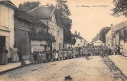 10-PINEY- RUE DE L'EGLISE - France