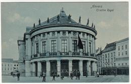 Belgique Belgium Anvers Antwerpen - Théâtre Royal - Animated Animée - Unused - 2 Scans - Antwerpen